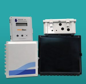 Custom non-metallic electrical enclosures