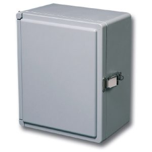 Centurion 9 x 7 x 5 inches CE907HPL Enclosure Product Image : Opaque Cover, Hinged, Padlock Latch