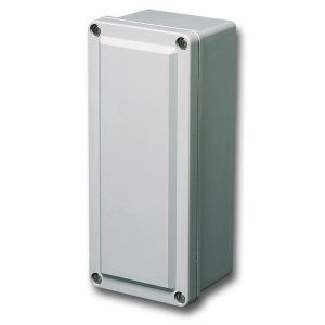 Commander 6 x 4 x 4 inches CO644 Enclosure Product Image : 4 Cover Screws, Lift Off Cover, Blank
