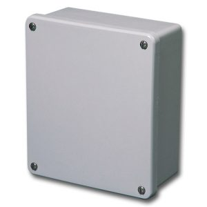 Commander 7 x 6 x 3 inches CO763 Enclosure Product Image : 4 Cover Screws, Lift Off Cover, Blank