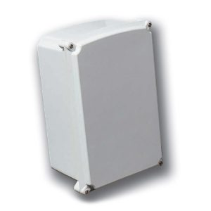 "DuraShield 18 x 16 x 8 inches DUL18168W Enclosure Product Image : ""W"" Configuration – Flush Fitting Cover Fastened By Captive Cover Screws"
