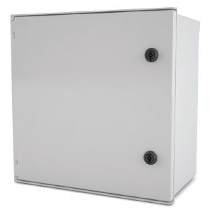 Endurance 12 x 10 x 6 inches E12106HQT Enclosure Product Image : Opaque cover, hinged, quarter turn latch