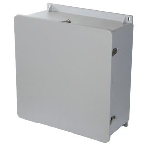 MachoBox 20 x 20 x 10 inches M2020HPL Enclosure Product Image : Hinged, padlock latch configuration