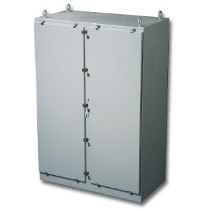 Triton 72 x 49 x 25 inches T724925FSDDHWT Enclosure Product Image : Opaque Cover, Latched Down Cover