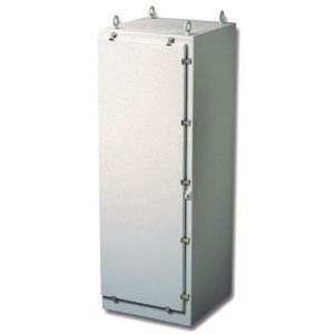 Triton 72 x 25 x 25 inches T722525FSHWT Enclosure Product Image : Opaque Cover, Latched Down Cover