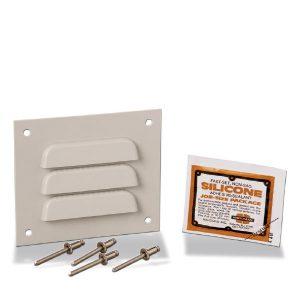 Louver Plate Vent Kit REHPK3KIT Product Image : Louver Plate Vent Kit