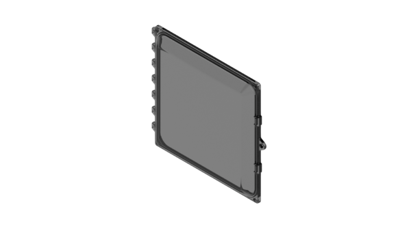 Clear Polycarbonate Enclosure Replacement Lid AttaBox