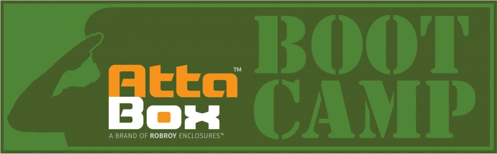 AttaBox Bootcamp for Reps and Distributors. Join us May 9-11, 2019
