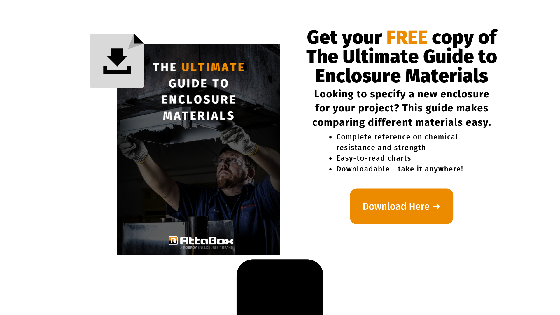 Get your FREE copy of The Ultimate Guide to Enclosure Materials