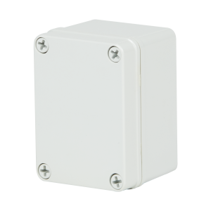 Commander 4 x 3 x 2 inches COPC432 Enclosure Product Image : 4 Cover Screws, Lift Off Cover, Blank