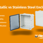 Polycarbonate and fiberglass versus metallic enclosures