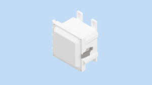 6 x 6 x 4 inches White Polycarbonate Enclosure with Stainless Steel Latches – WH-AH664SS AttaBox Product Image : White Enclosure – Opaque Cover Configuration (Hinged, Latched, Padlockable) List Price – $198.23